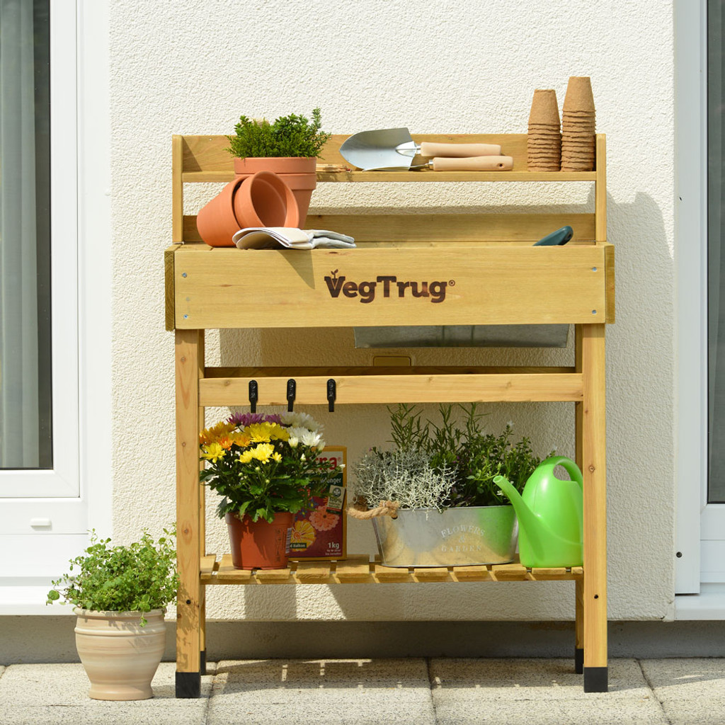 Planting Tables For Sale 4 X 2 Cedar Potting Bench