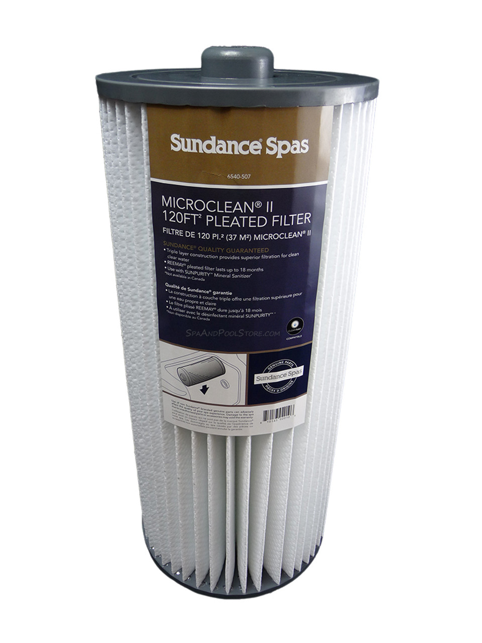 Jacuzzi Pool Filter Parts 6540 507 Sundance Spas Microclean 2 Filter Auto Shipment Save 5 Subscribe Below For Savings Out Of Stock