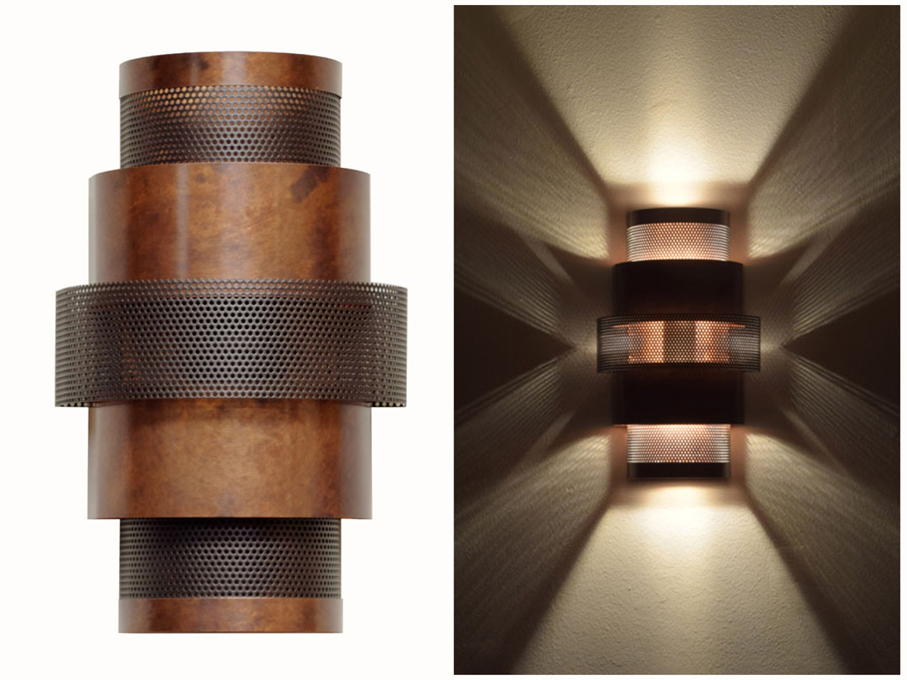 Office Wall Sconces Ziggurat Wall Sconce