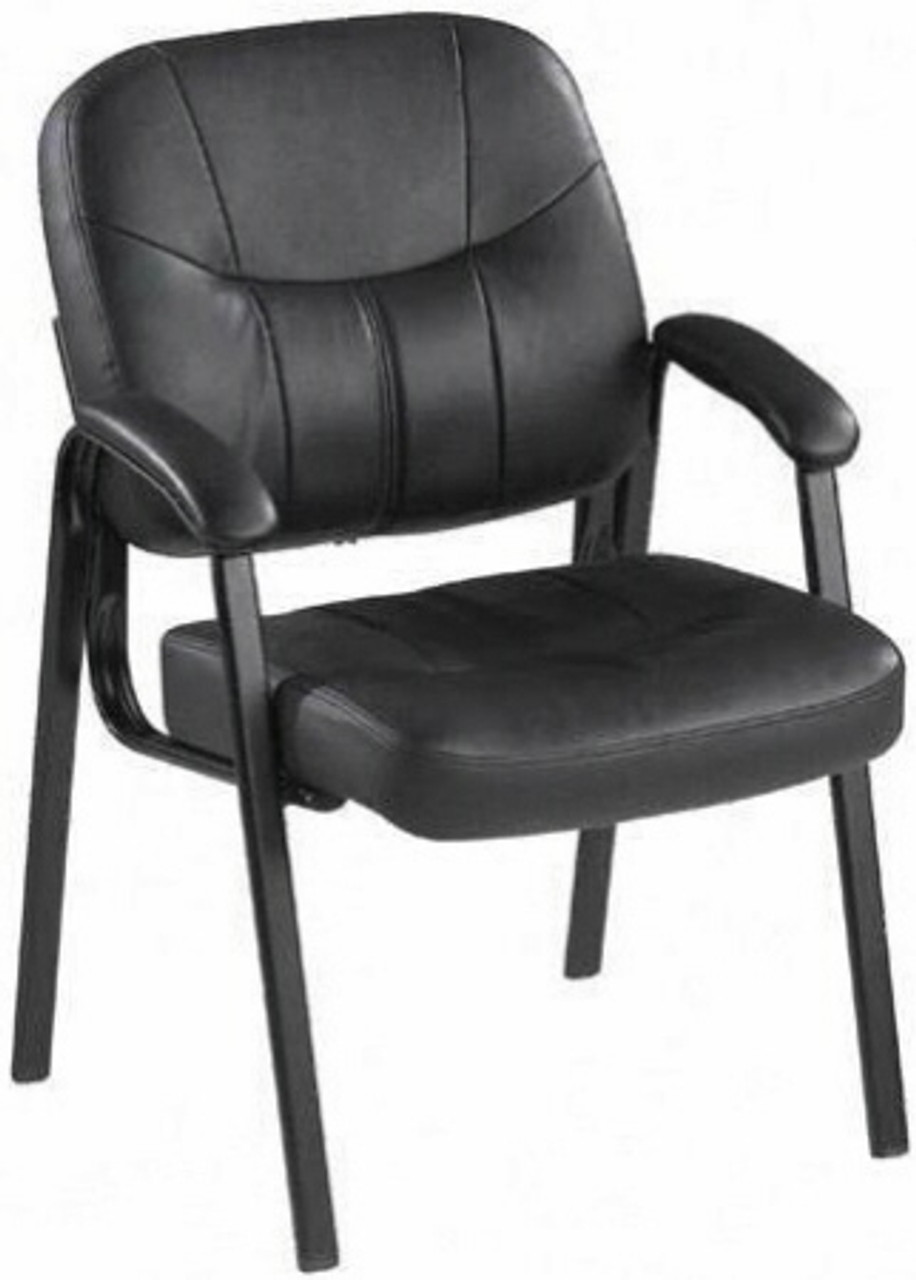 Lorell Chadwick Series Leather Guest Chair 60122