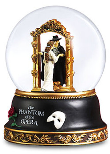 Big Mirror Globe In Chicago Phantom Of The Opera Mirror Snow Globe
