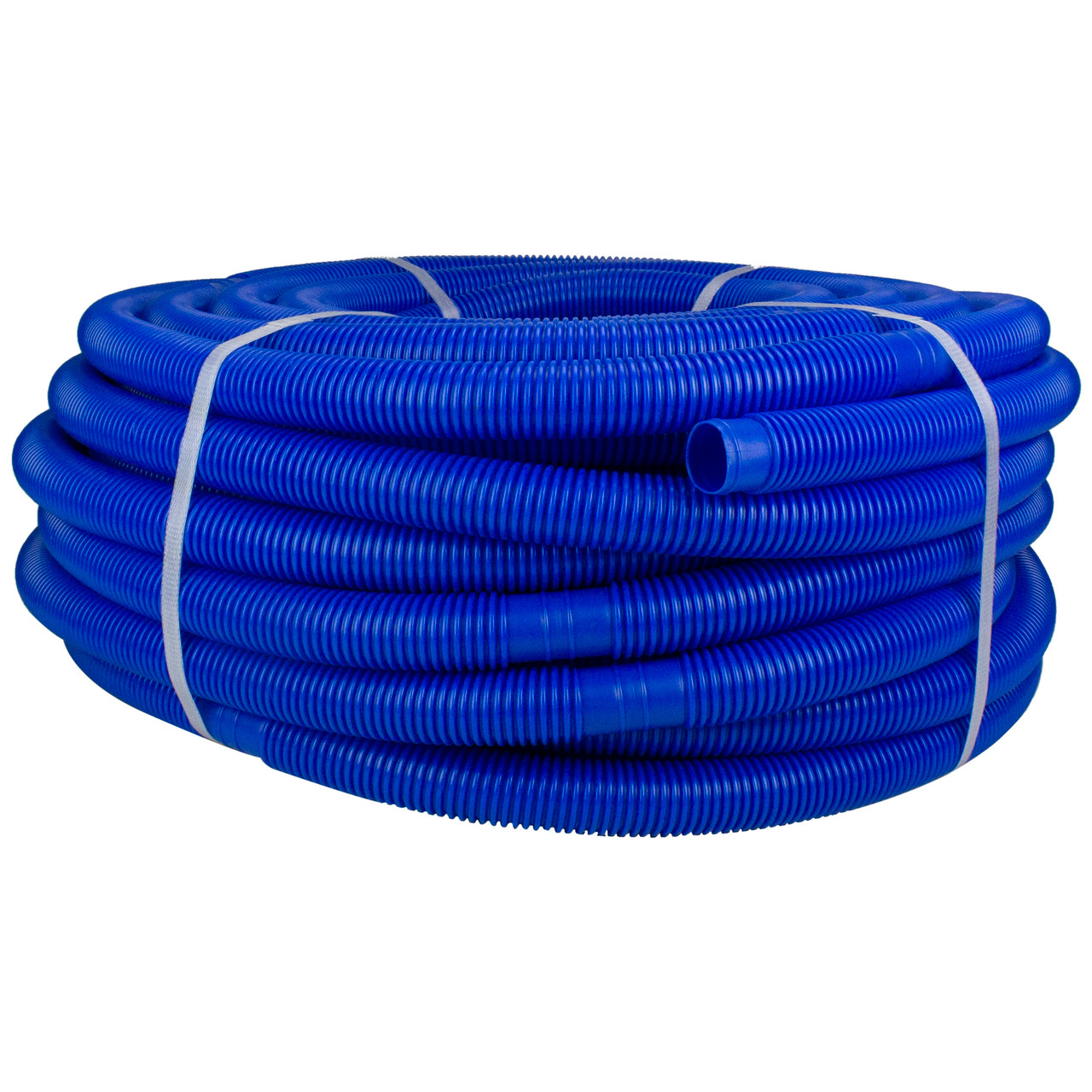 Pool Hose Blue Blow Molded Pe In Ground Swimming Pool Cuttable Vacuum Hose 147 5 X 1 25