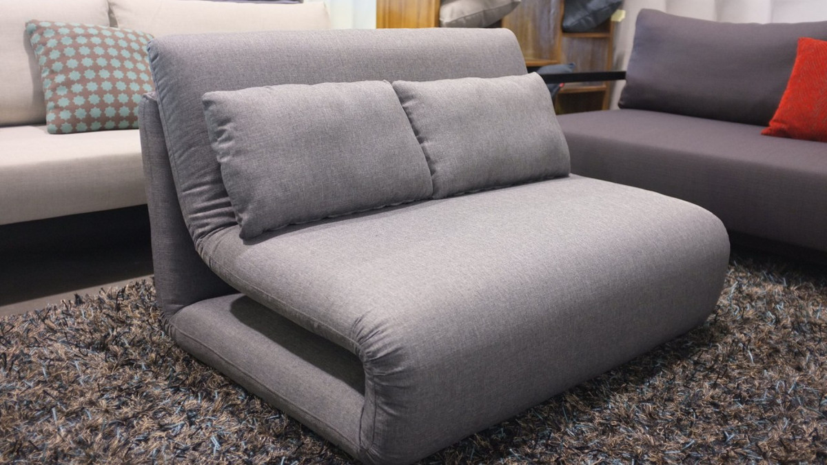 Grey Sofa Nz Tri Fold King Single Sofa Bed Orange Only Left