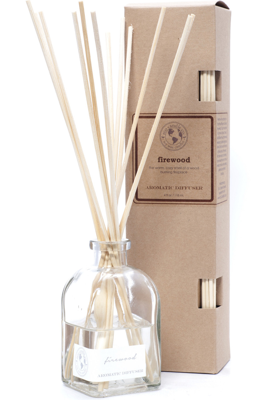 Fireplace Fragrance Oil Reed Diffuser Firewood