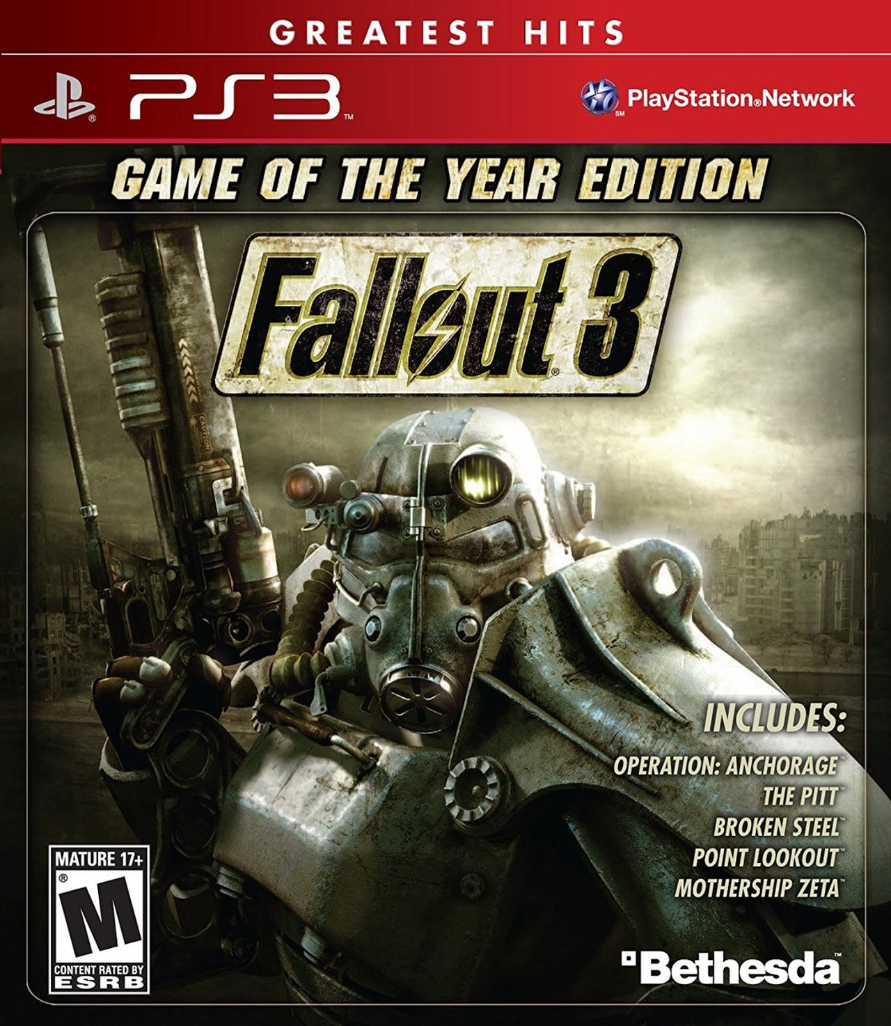 Edition For Ps3 Fallout 3 Game Of The Year Edition Ps3