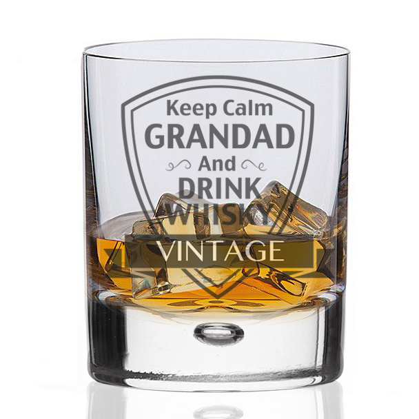 Wisky Glas Whisky Glass Keep Calm Grandad And Drink Whisky
