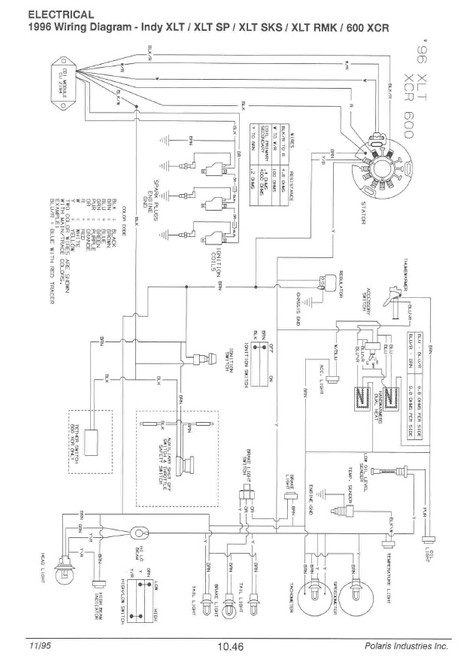 Polaris Indy Xc - Best Place to Find Wiring and Datasheet Resources