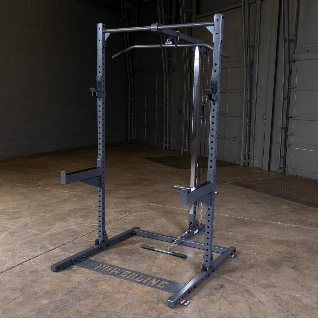 Garage Gym Half Rack Body Solid Powerline Home Half Rack