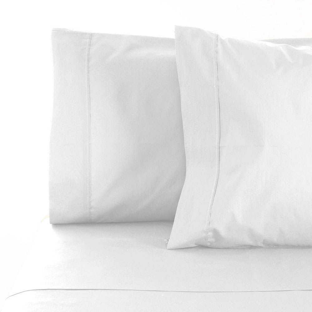 100 Egyptian Cotton Sheets La Via White 100 Egyptian Cotton Sheet Set 400tc Double Bed