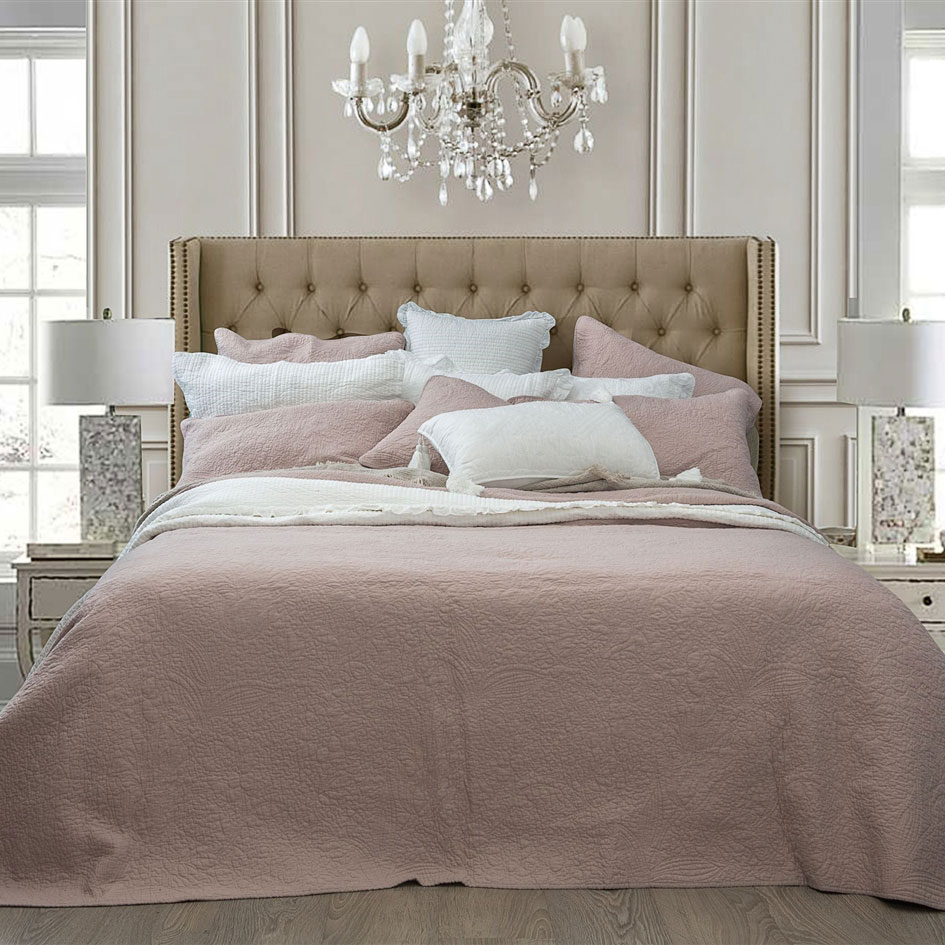 Bed Coverlet Monet Blush Pink Coverlet Set Queen Bed