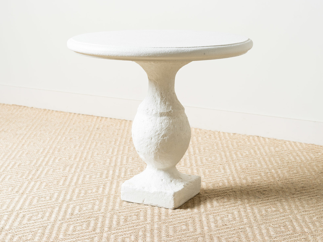 Table Metal Blanc Round Bistro Table Blanc