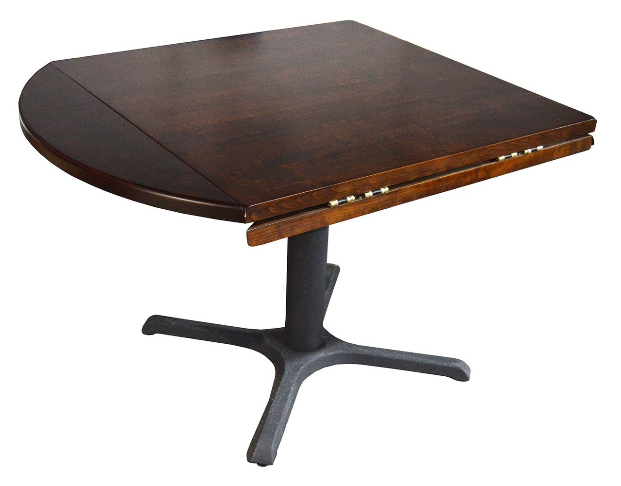 Reastaurant Tables Restaurant Flip Top Table Top With Drop Leaf On Heavy Duty Base