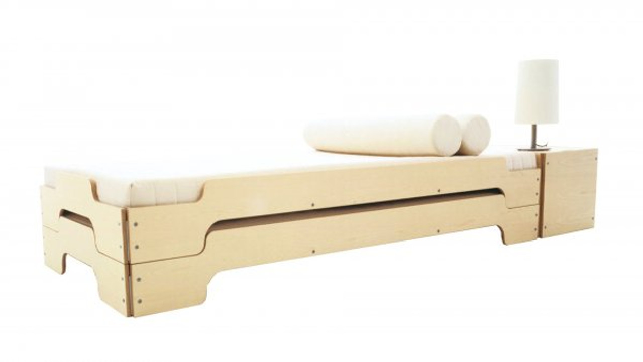 Stacking Bed Comfort In Birch Mueller Small Living Usa