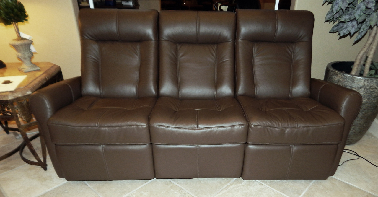 Leather Clearance Sale Palliser Yellowstone 42211 Sofa Recliner Power Recliner