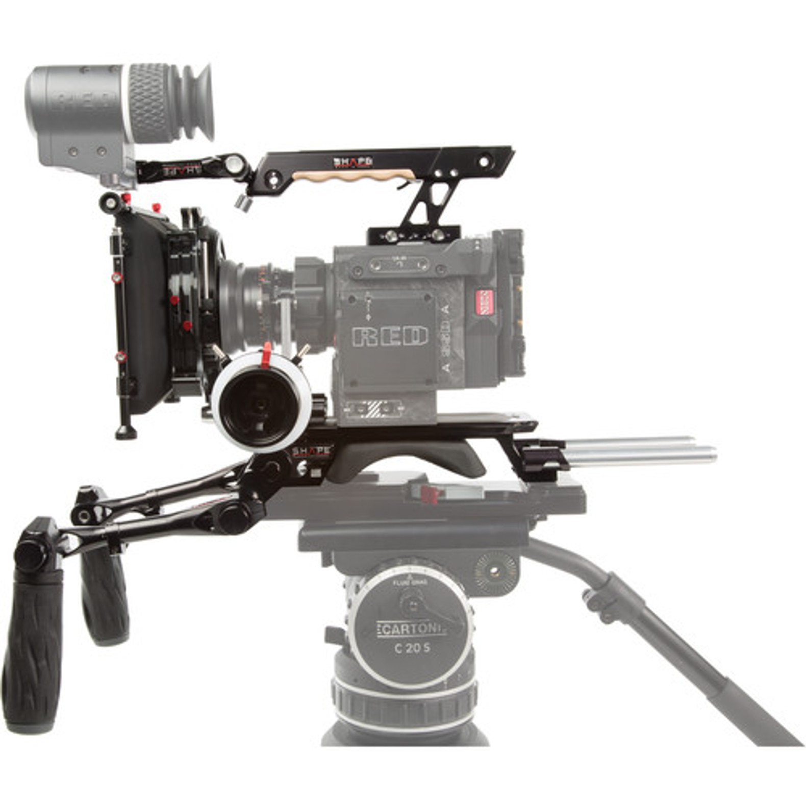 Red Raven Specs Shape Complete Rig System For Red Weapon Epic W Scarlet W And Raven Cameras