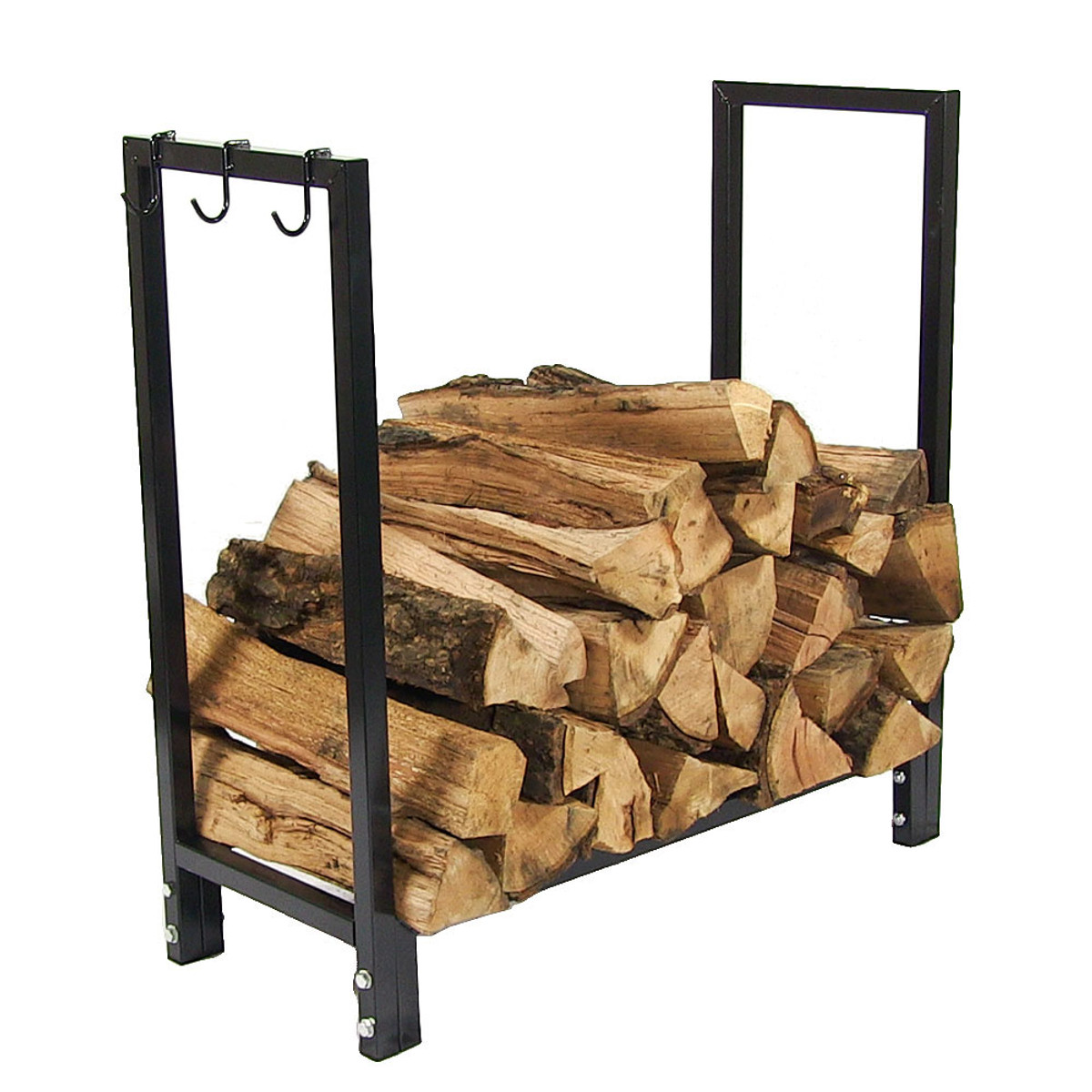 Outdoor Firewood Rack Sunnydaze Indoor Outdoor Steel Firewood Rack 30