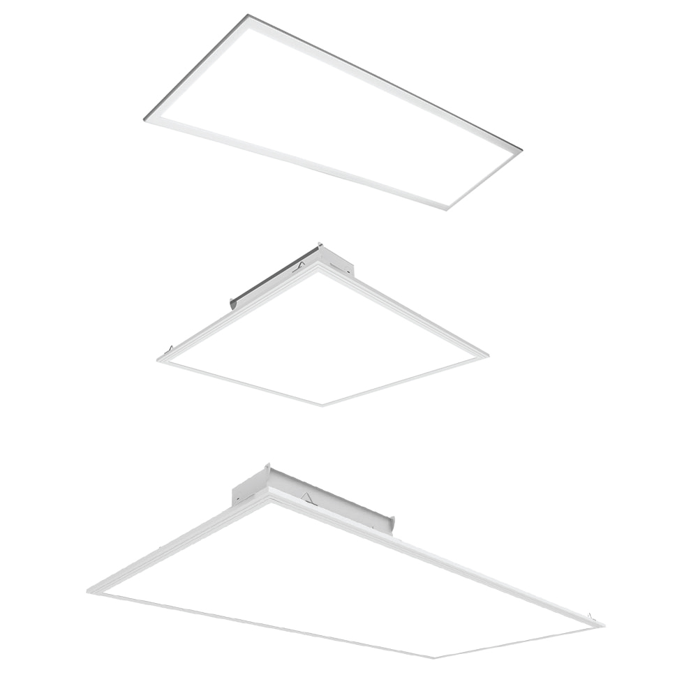 Panel Light Led Drop Ceiling Flat Panel Light Fixtures Choose Your Size Color And Optional Mounting Kit For Pricing Starting From 39 00 Up To 119 90