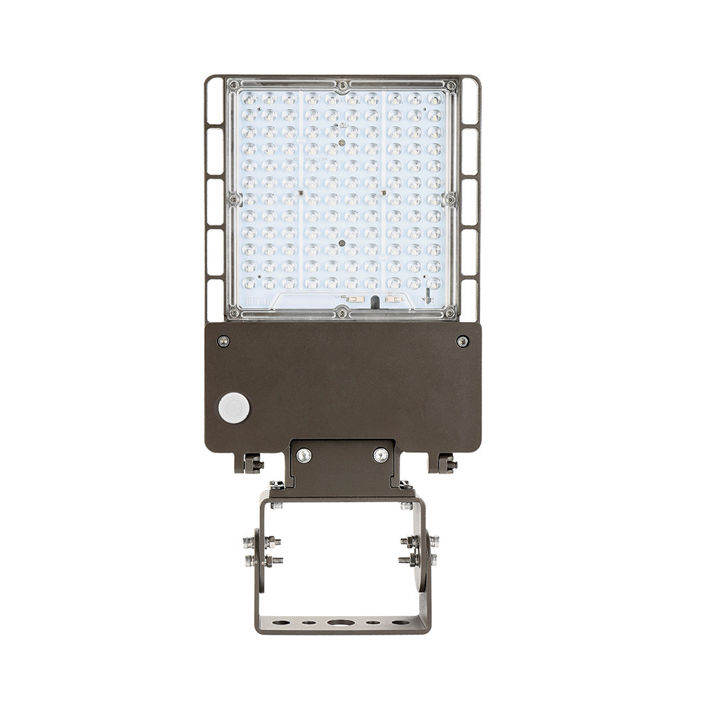 40 Watt Led 40 Watt Led Parking Lot Light 5000k Color Temperature With Trunnion And Pir Motion Sensor