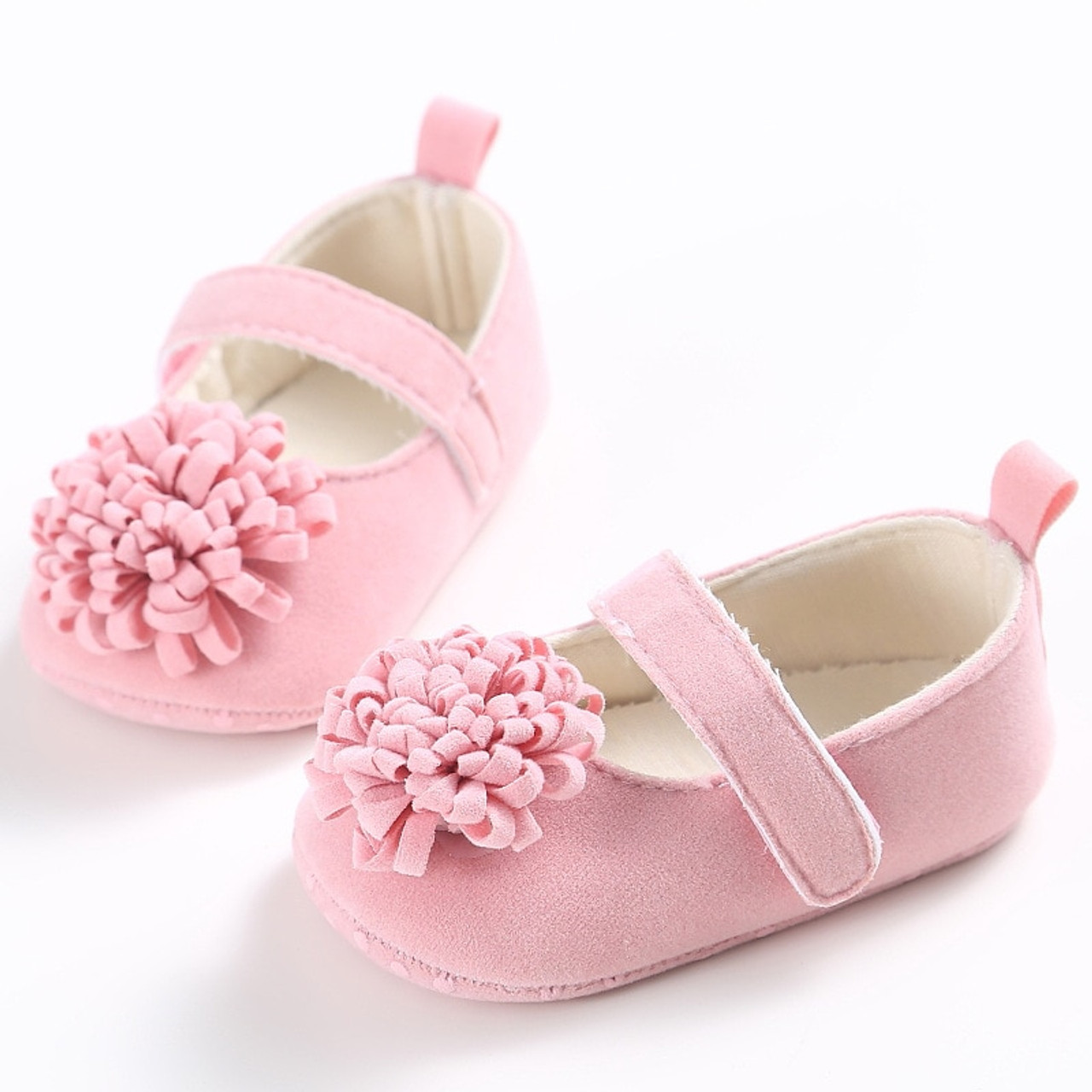 Newborn Crib Shoes Baby Girl Crib Shoes 1 Year Old Summer Baby Girl Shoes Newborn Soft Bottom Flowers Princess Series Baby Shoes Yd221r