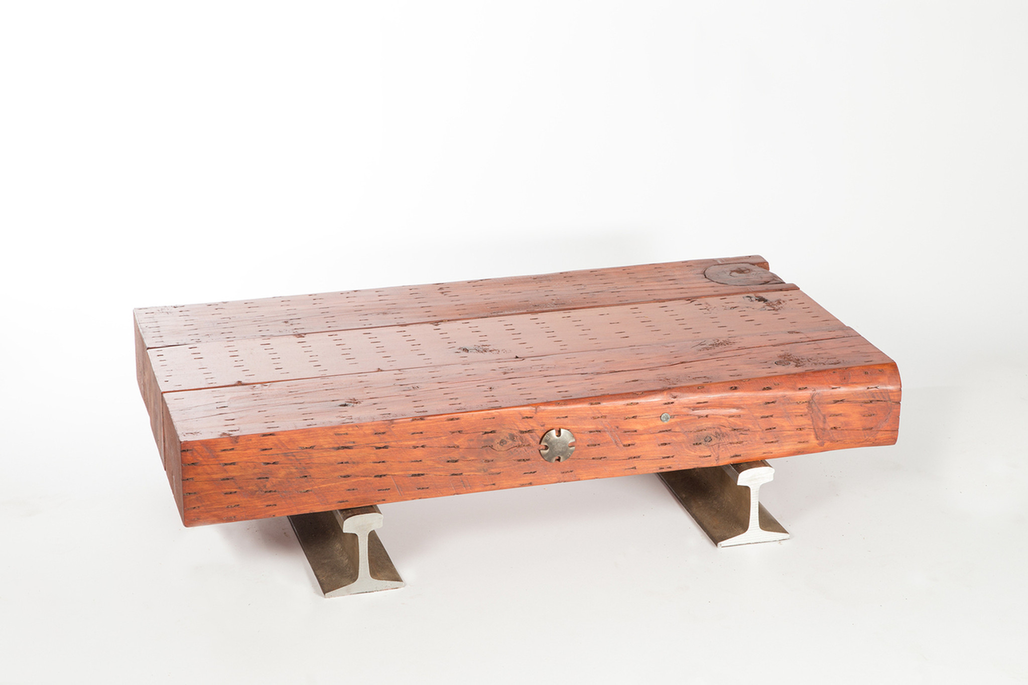 Solid Timber Coffee Table Flatcar Coffee Table No 35