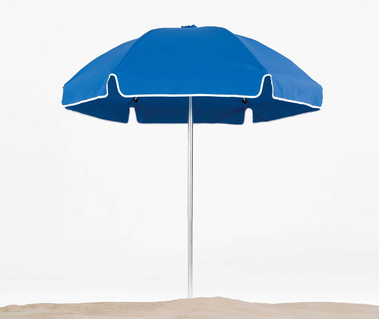 Resort Contract 6 5 Ft Aluminum Beach Umbrella With A Fiberglass Frame Low Pricing