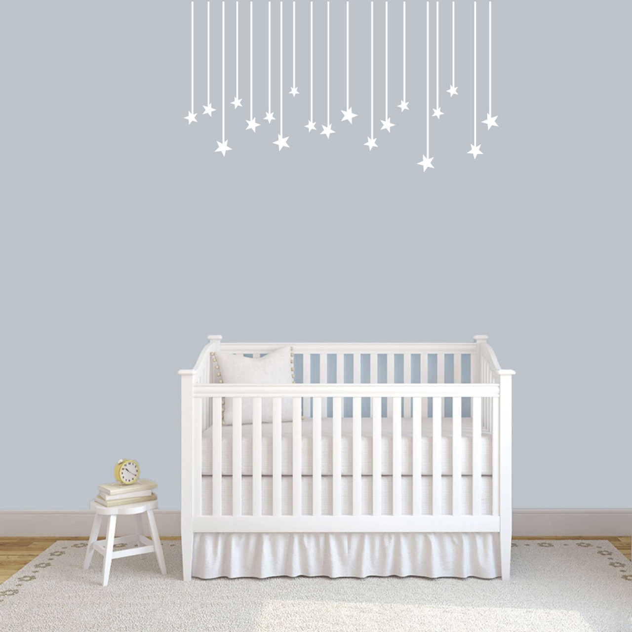 Stars Room Decor Hanging Stars Wall Decal