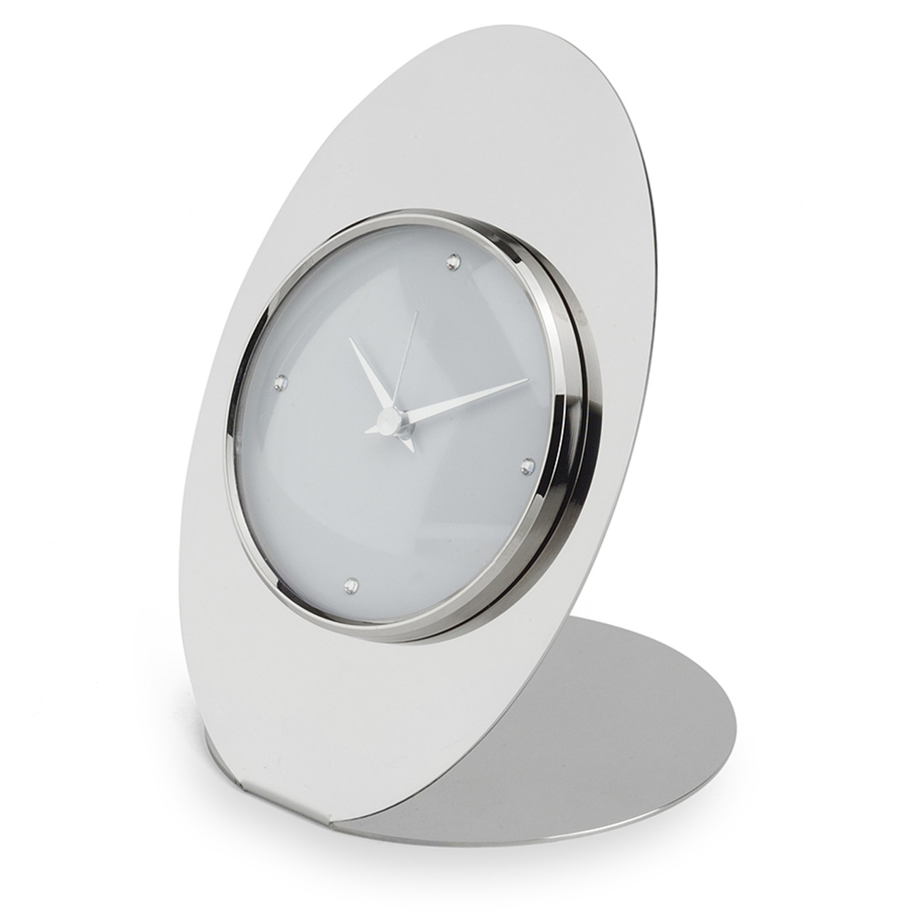 Oval Clock Face Oval White Face