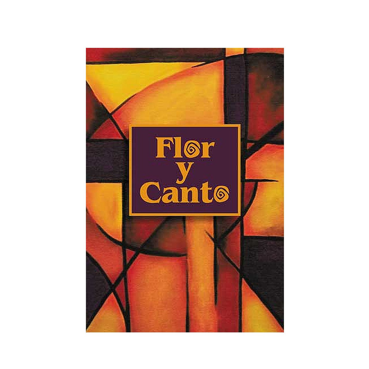 Cross Guitar Book Flor Y Canto Book Spanish Words Chords 740 Songs Coil Bound 30101223