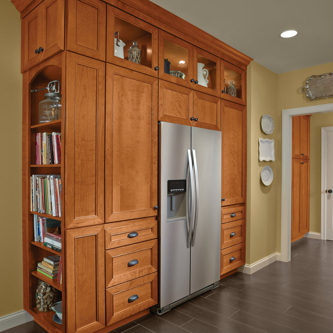 Kitchen Cabinet Pantry Display Kraftmaid