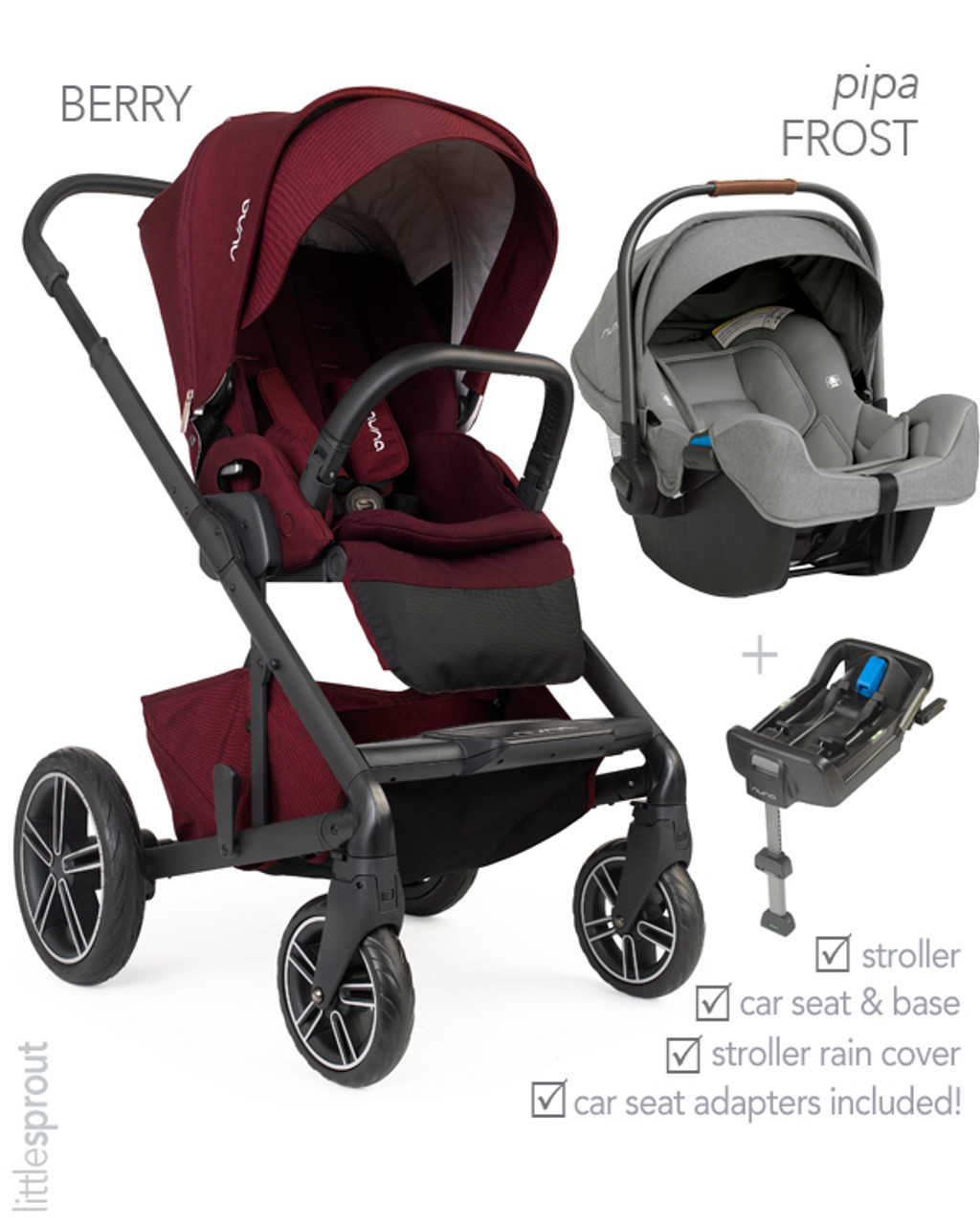 Top Lightweight Travel System Strollers 2018 Nuna Mixx2 Stroller 2019 Nuna Pipa Car Seat Travel System