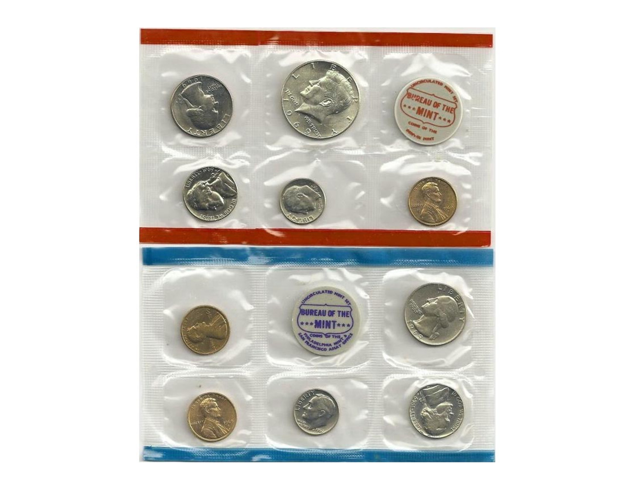 Mint Set 1969 Us Mint Set