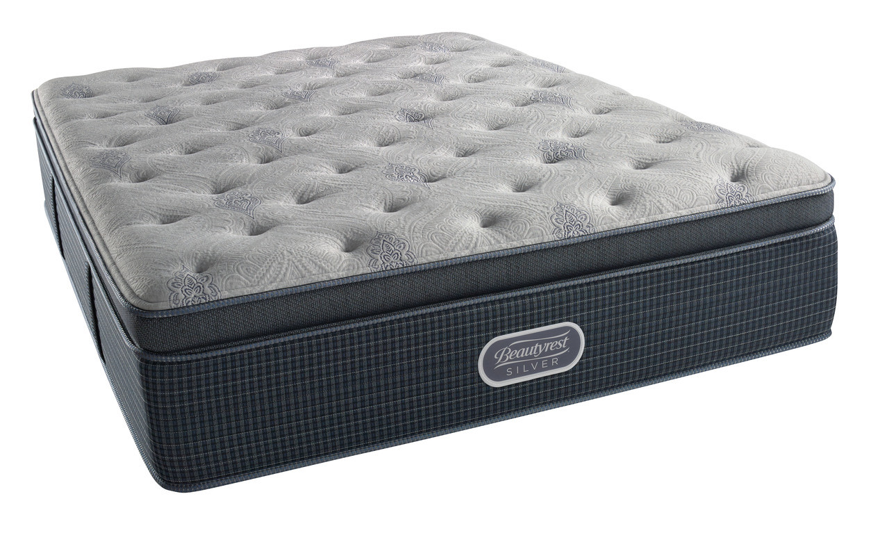 Sealy Posturepedic Backcare Elite Mattress Simmons Beautyrest Silver Level 2 Plush Pillow Top Mattress