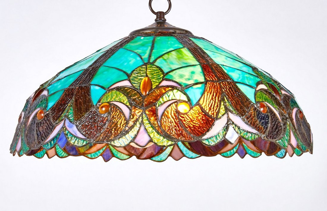 Glass Lamp Ceiling New Galaxy Lighting Tiffany Style Stained Glass Hanging Lamp Ceiling Fixture Tl16012 18 Inch Wide