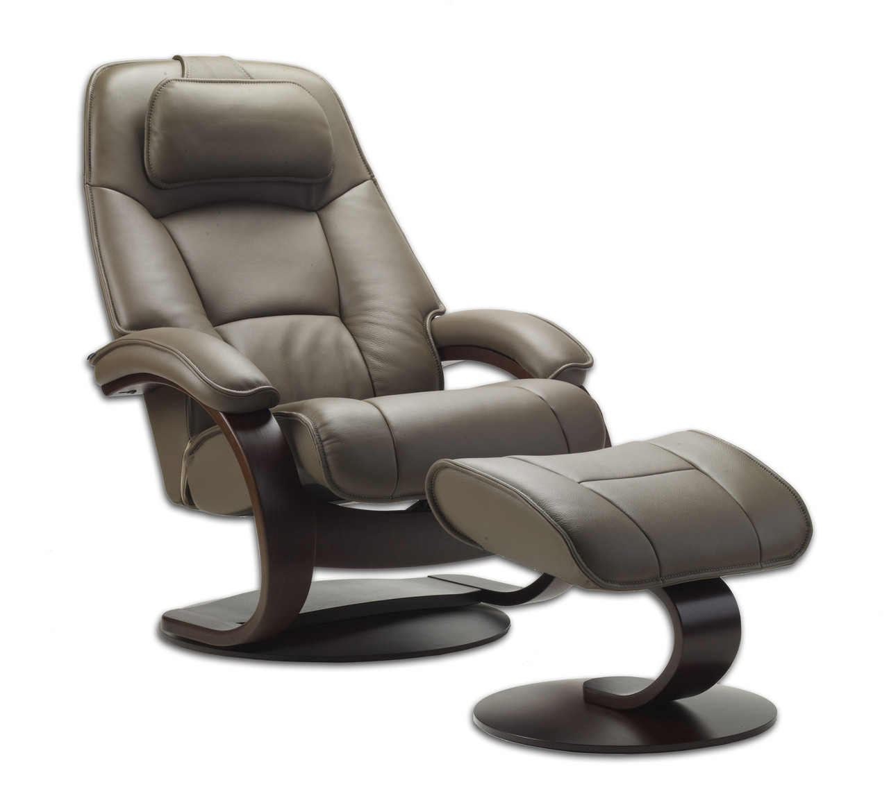 Fauteuils Relaxants Stressless Admiral Large Recliner And Ottoman With C Base Fjords