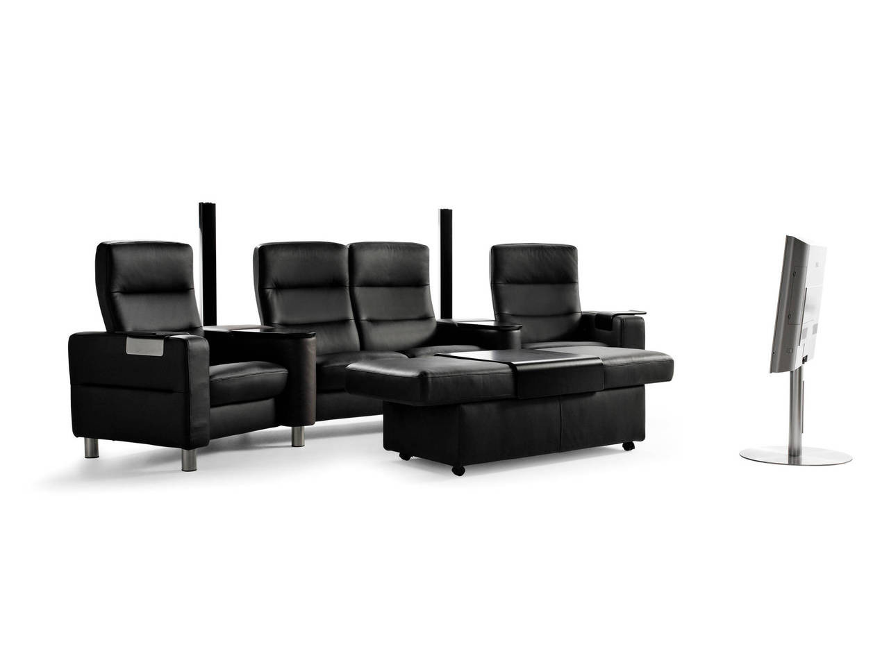 Stresless Ekornes Stressless Wave Home Theater Seating Sc 121