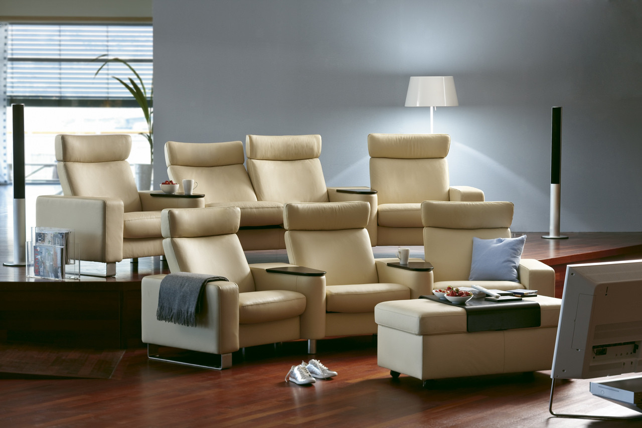 Stressless Kino Stressless Space Complete Home Theater Seating