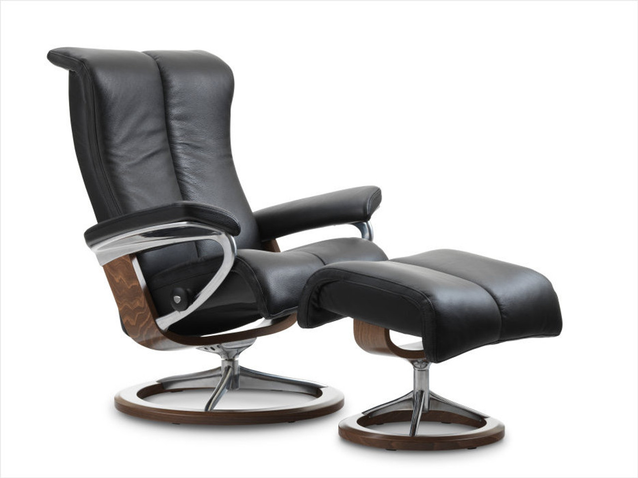 Stressless Video Stressless Piano Recliner Signature Series Base Or Leg