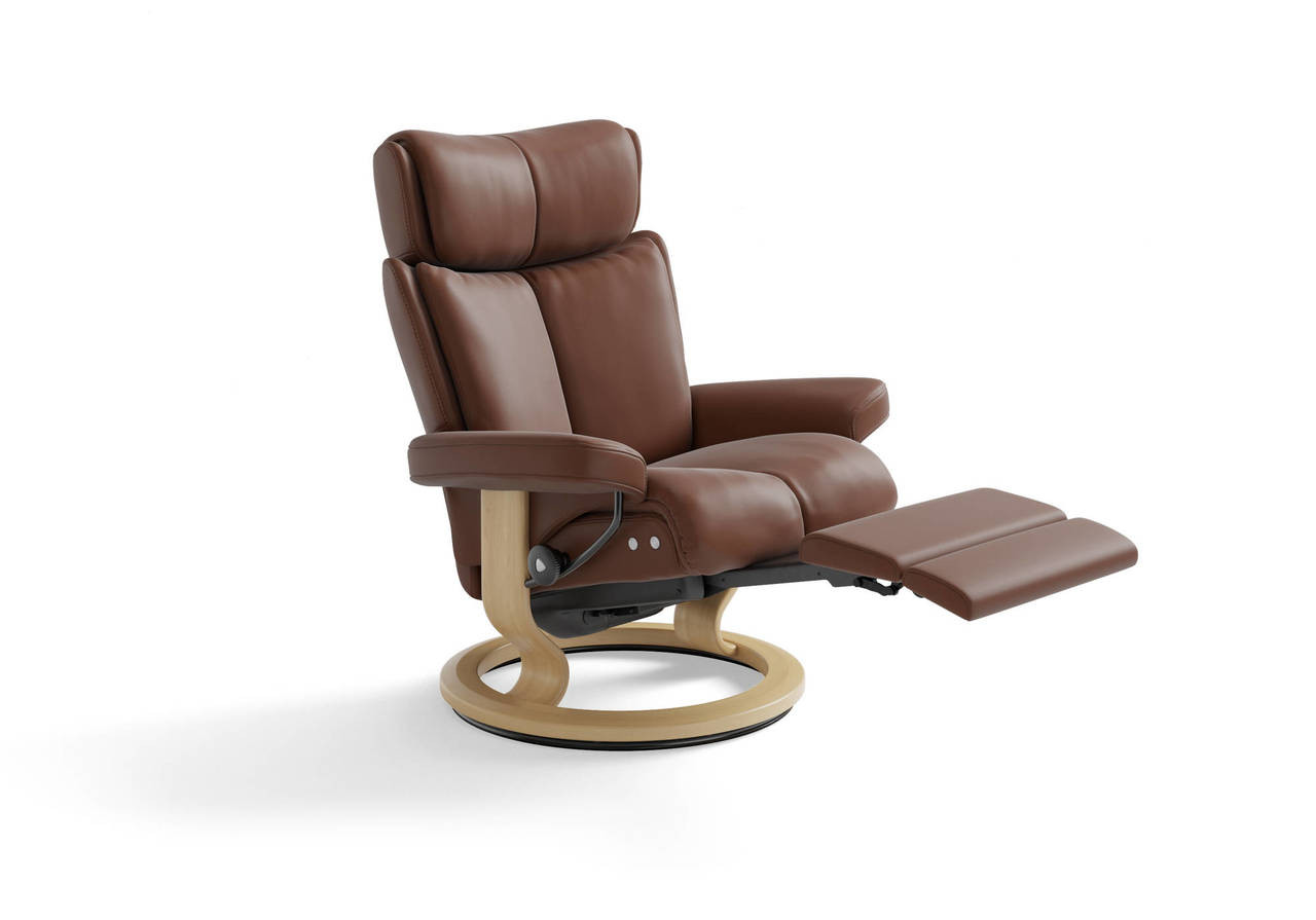 Stressless Paloma Stressless Magic Recliner Signature Series Or Leg Comfort Powered