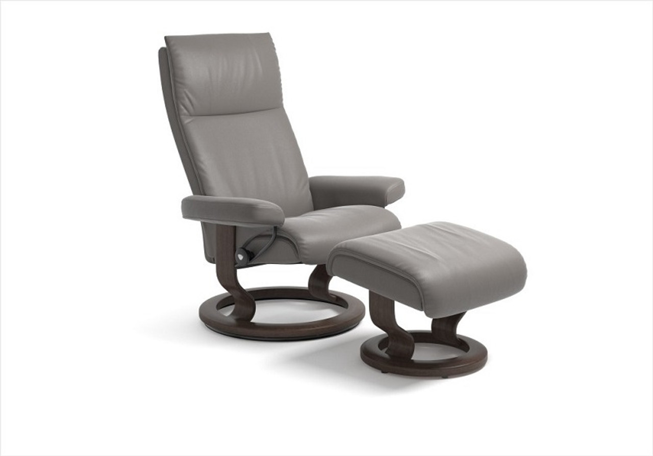 Stressless Video Stressless Aura Large Recliner With Ottoman By Ekornes Stress Free Shipping