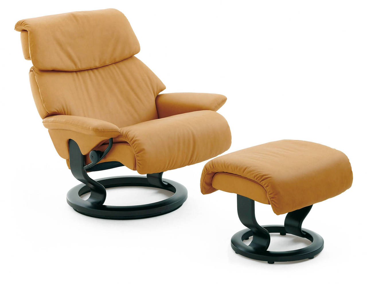 Stressless-world.com Stressless Spirit Recliner With Ottoman Pain Free Delivery