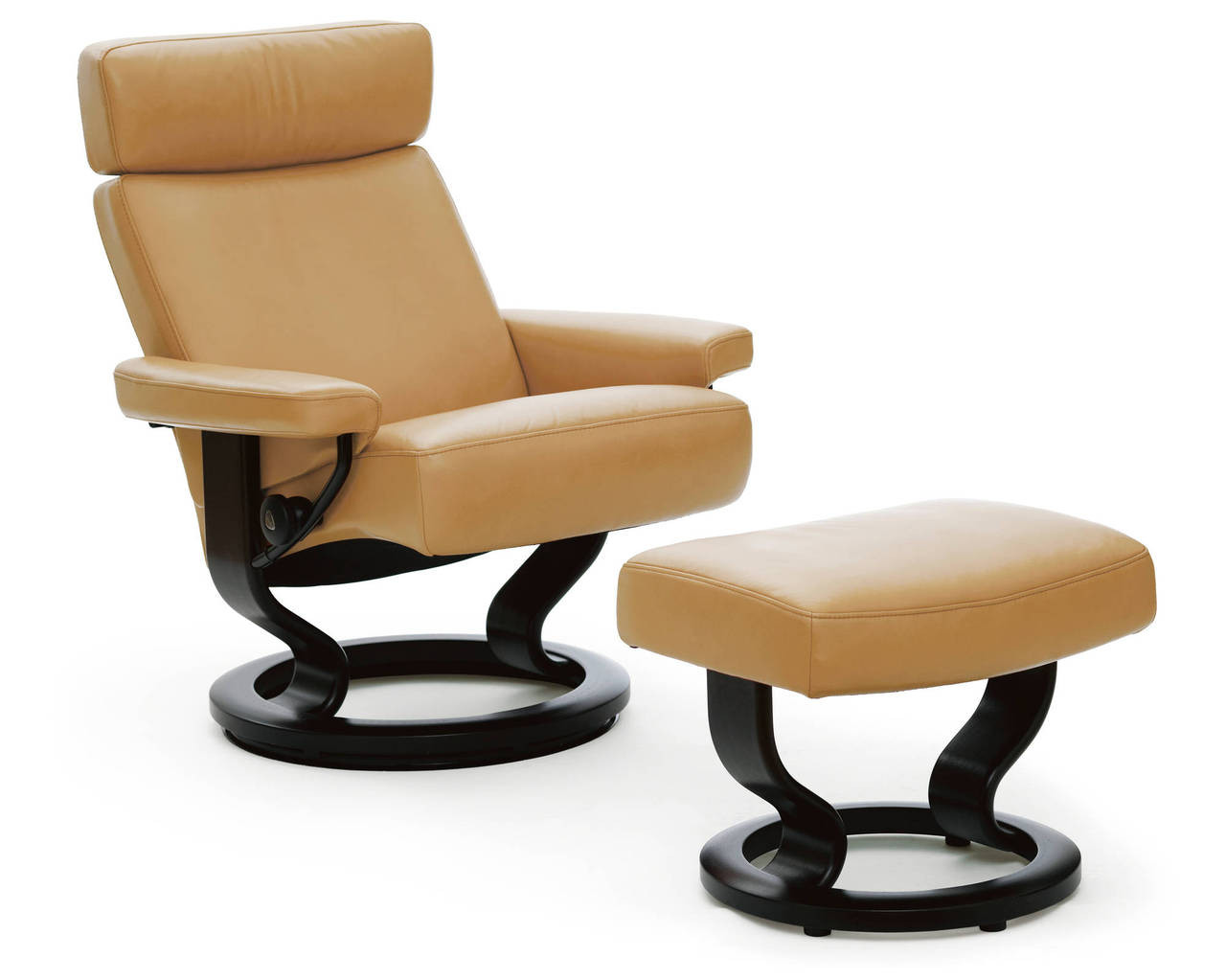 Stressless-world.com Stressless Orion Recliner With Ottoman On Sale Pain Free Delivery