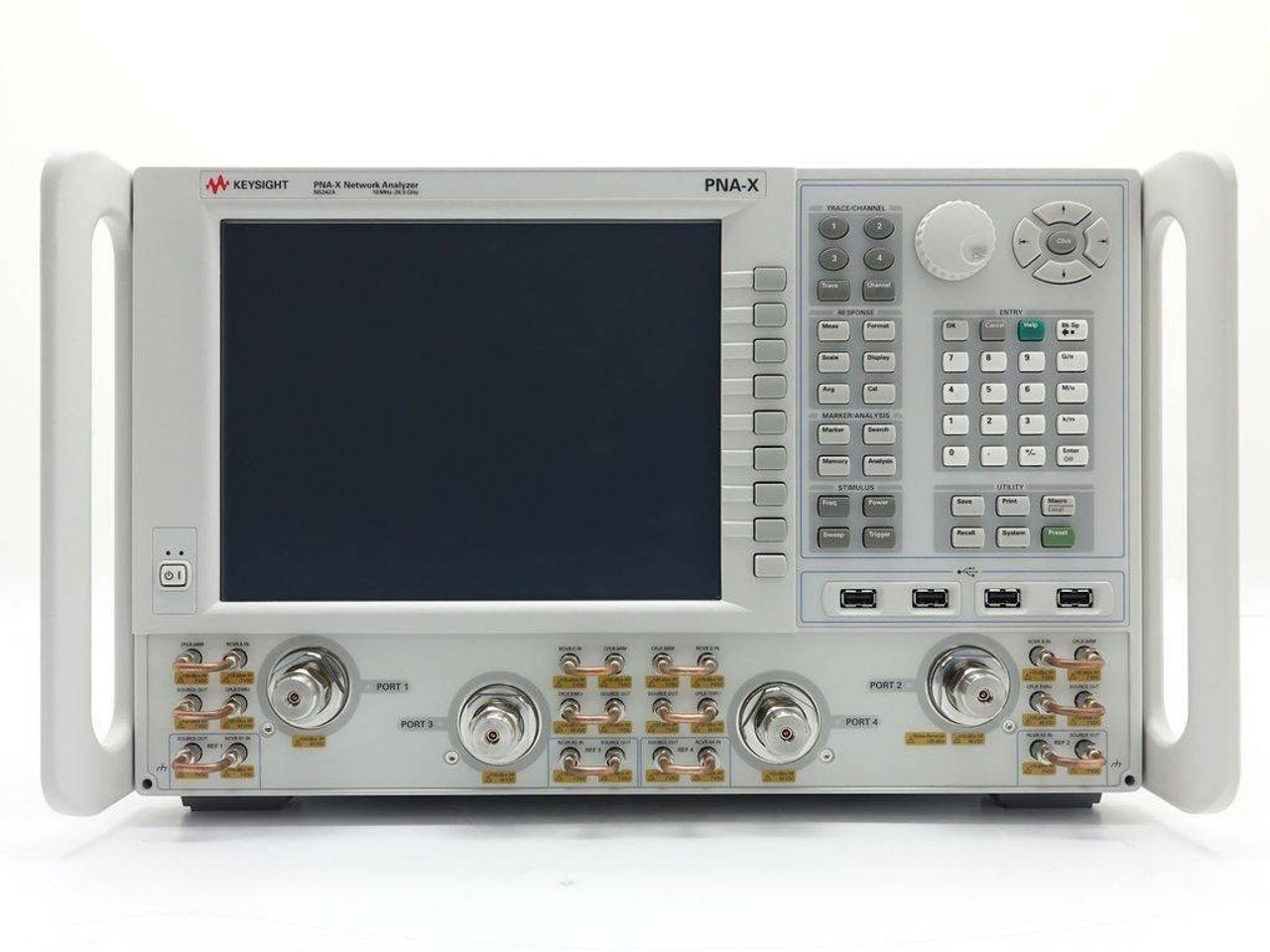 Network Analyzer Keysight N5242a 10mhz 26 5ghz Pna X Network Analyzer W Opts 29 80 400 419 423