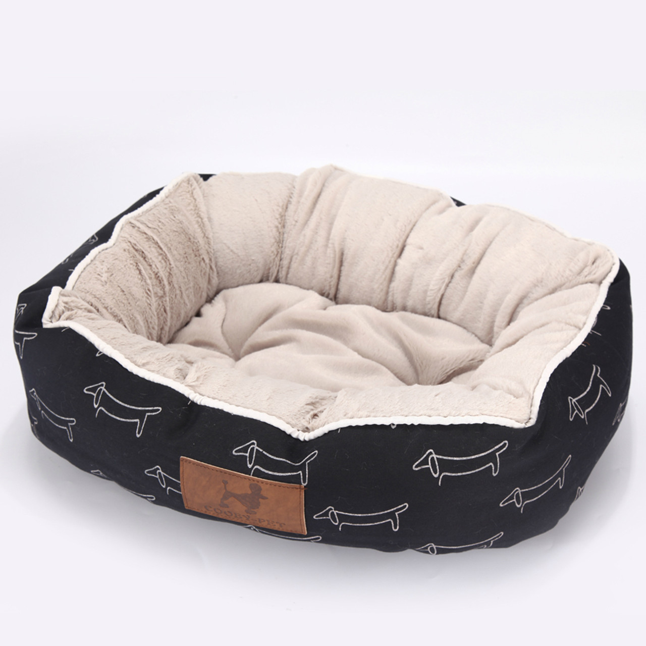 Dog Beds Pet Black Puppies Pet Bed For Animals Dog Beds For Large Dogs Cat House Dog Bed