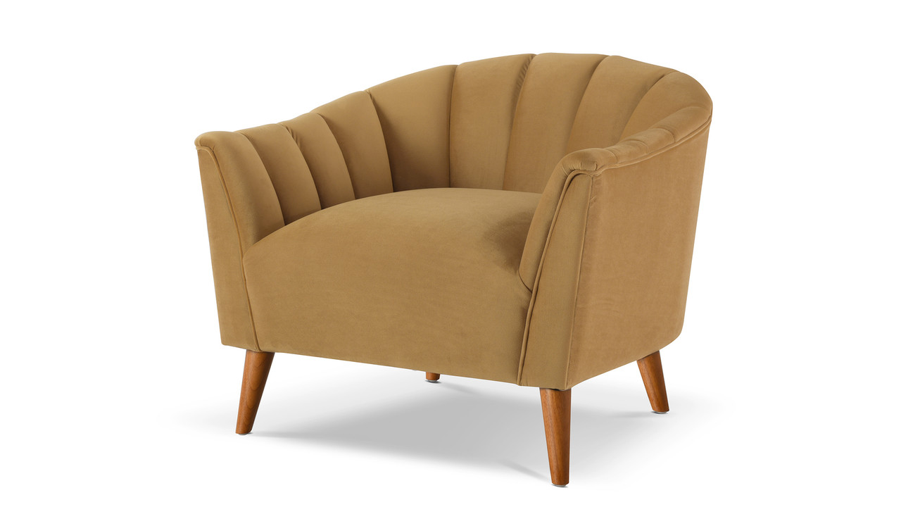 Accent Arm Chairs Sienna Accent Arm Chair Gold