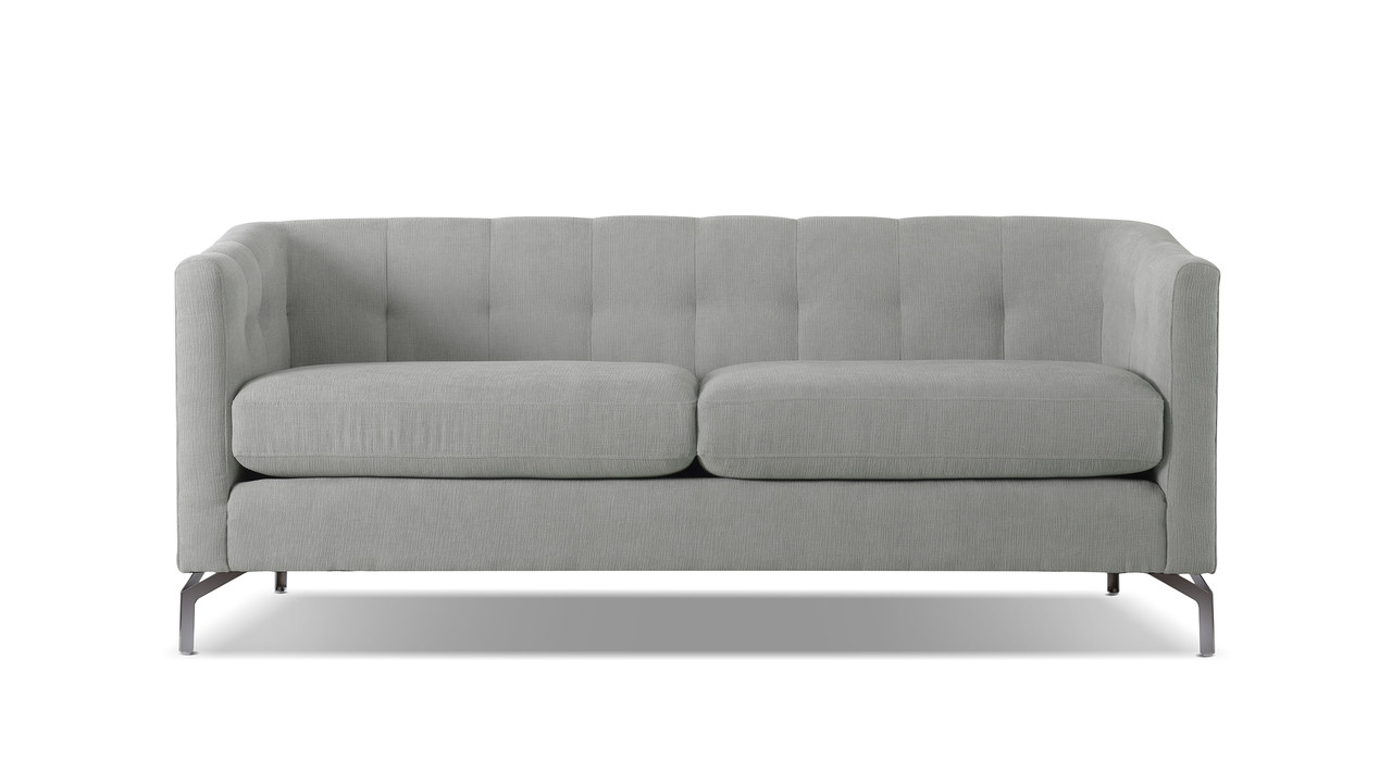 Contemporary Couch Arlene Modern Contemporary Sofa Mineral Grey