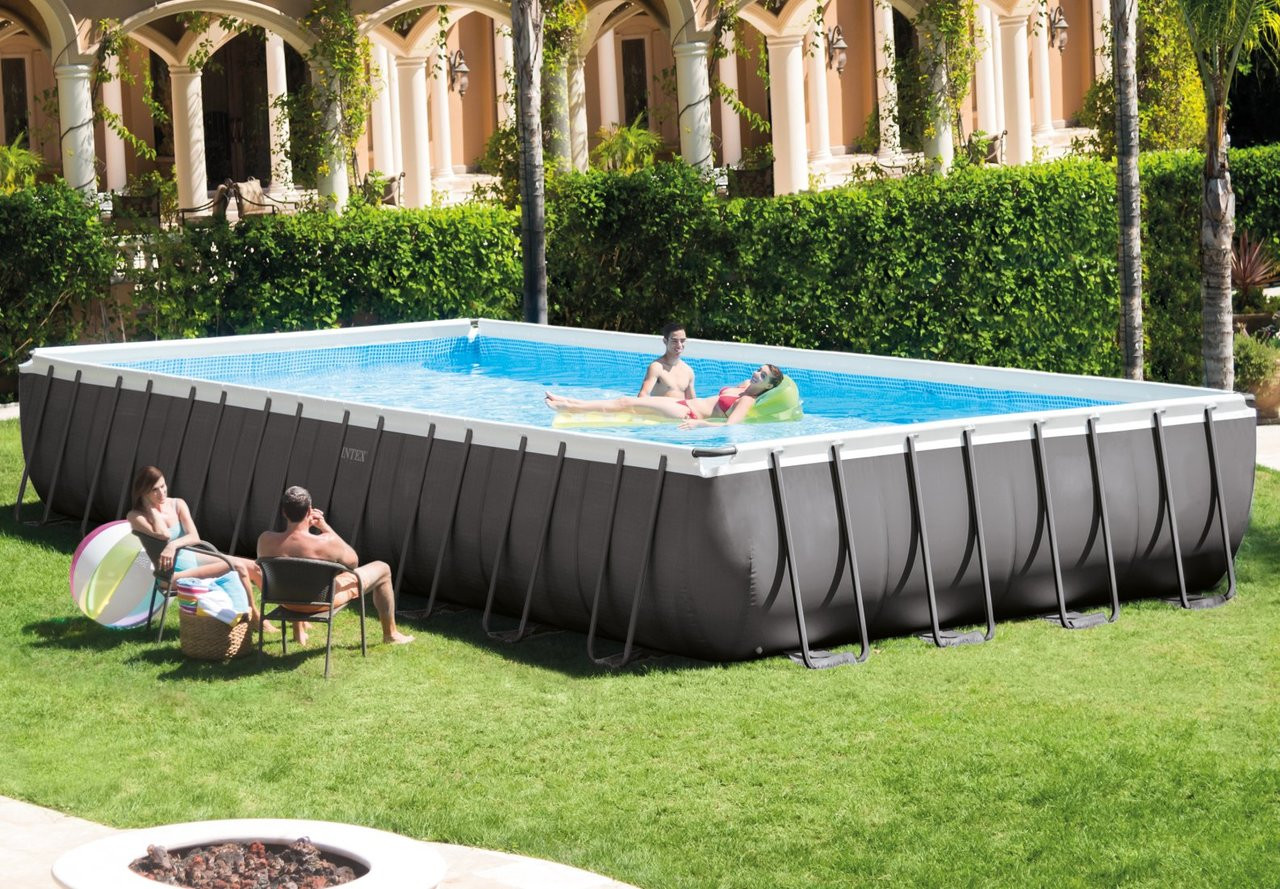Sandfilter Pool Anleitung Bestway 32ft X 16ft X 52in Ultra Frame Rectangular Pool Set With Sand Filter Pump