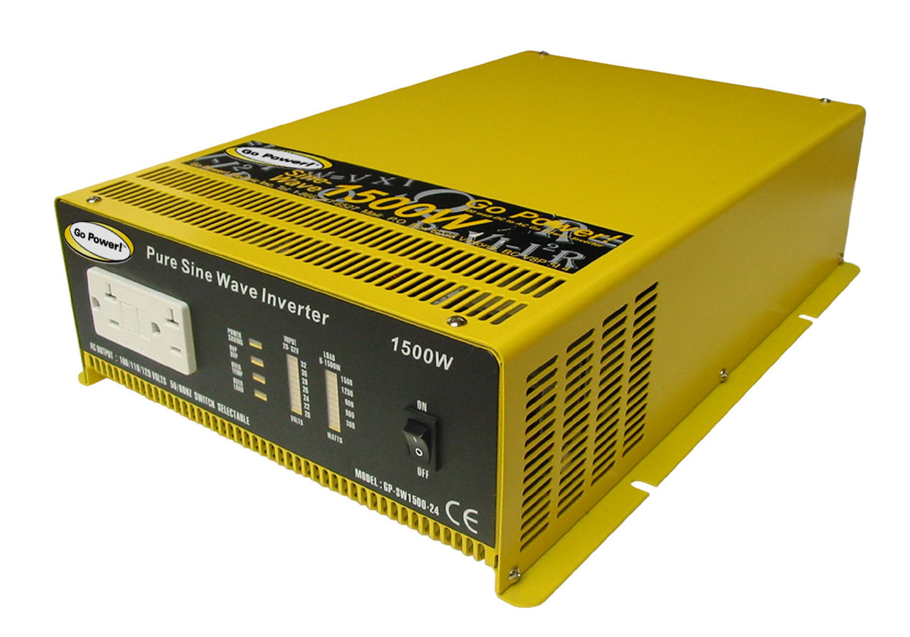 1000 Watt Pure Sine Wave Inverter Go Power 1500 Watt Pure Sine Wave Inverter 12v