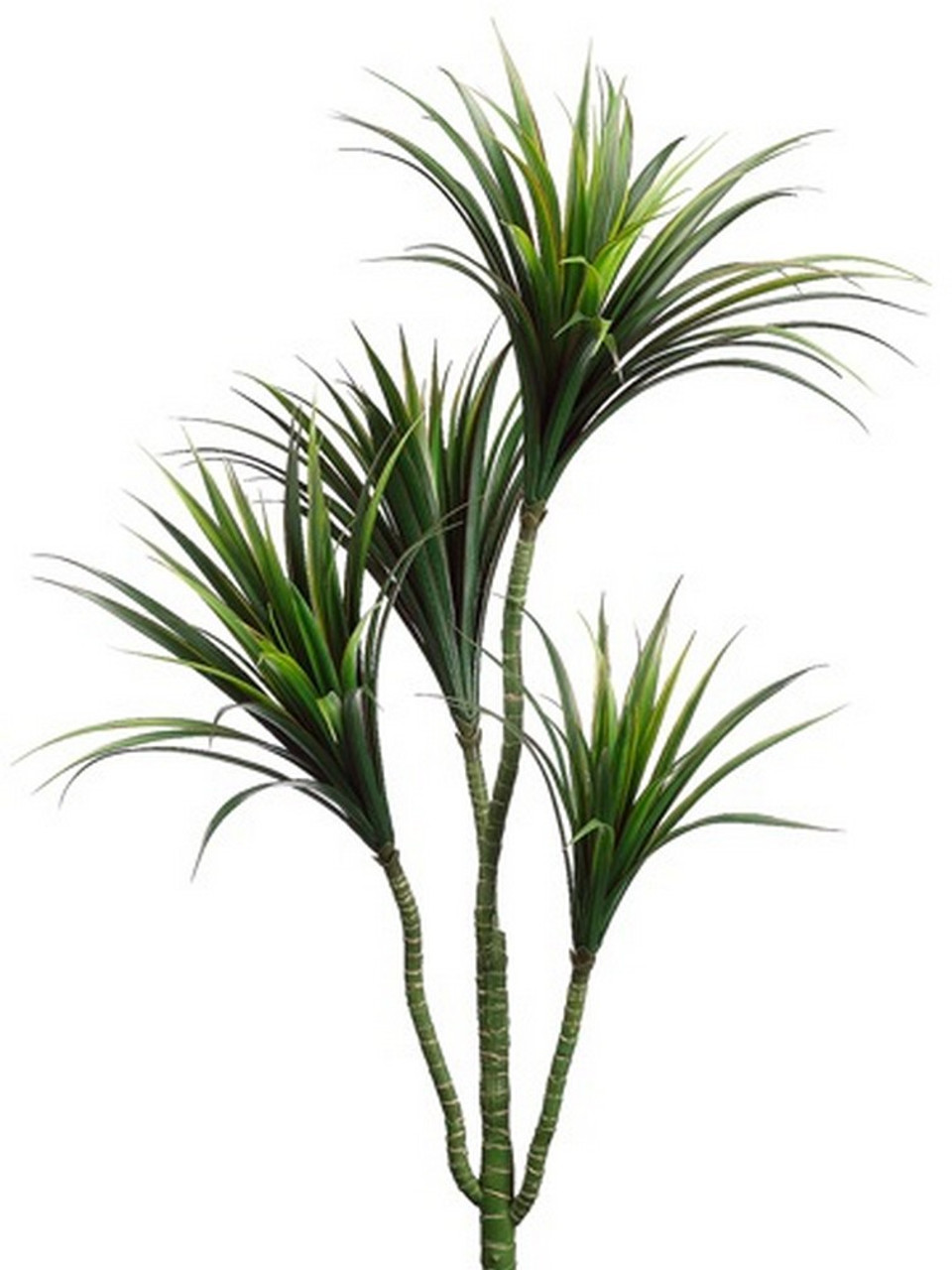 Dracaena Plant One 42 Inch Outdoor Artificial Dracena Palm Tree Uv Rated Plant