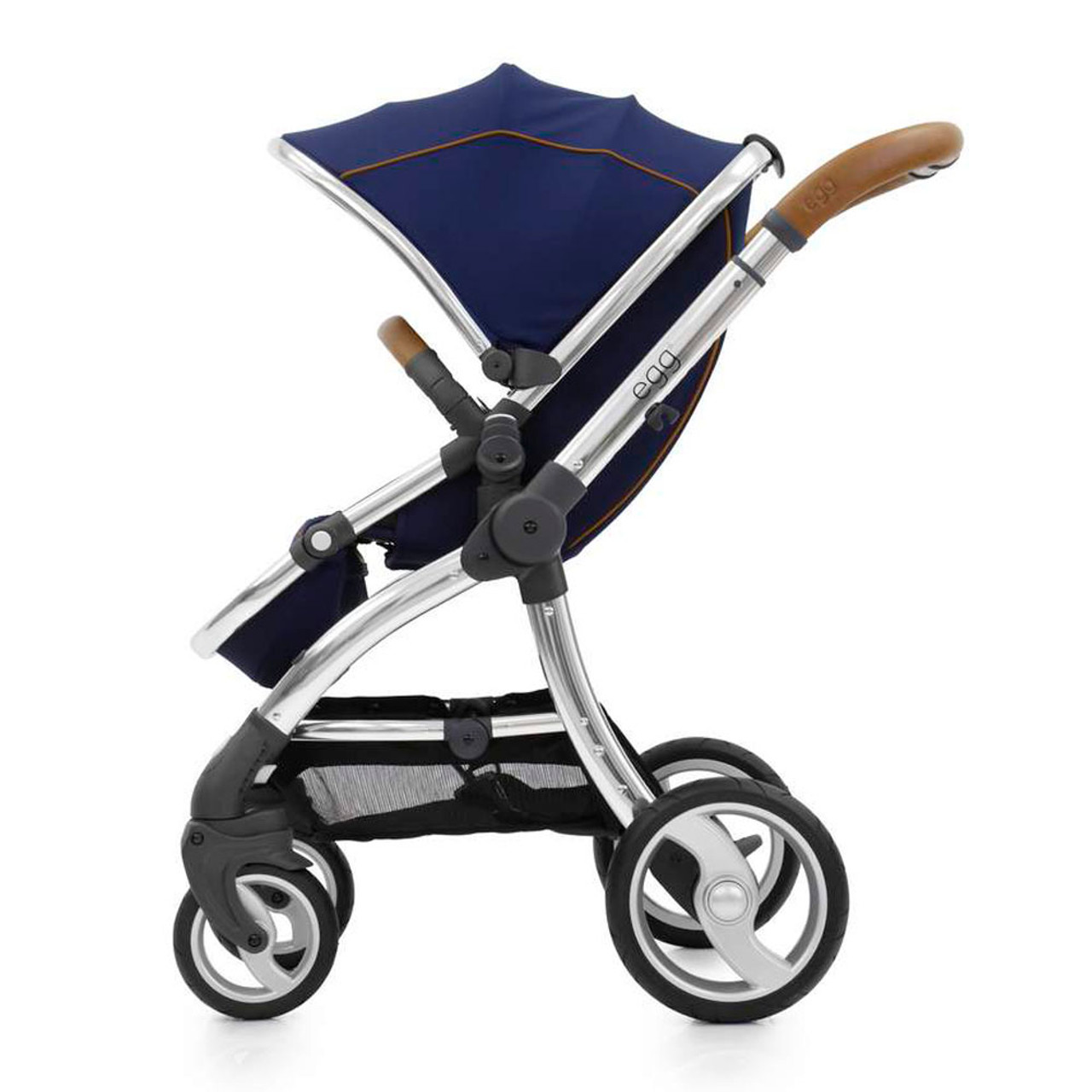 Egg Stroller For Twins The Egg Stroller Regal Navy With Mirror Chassis