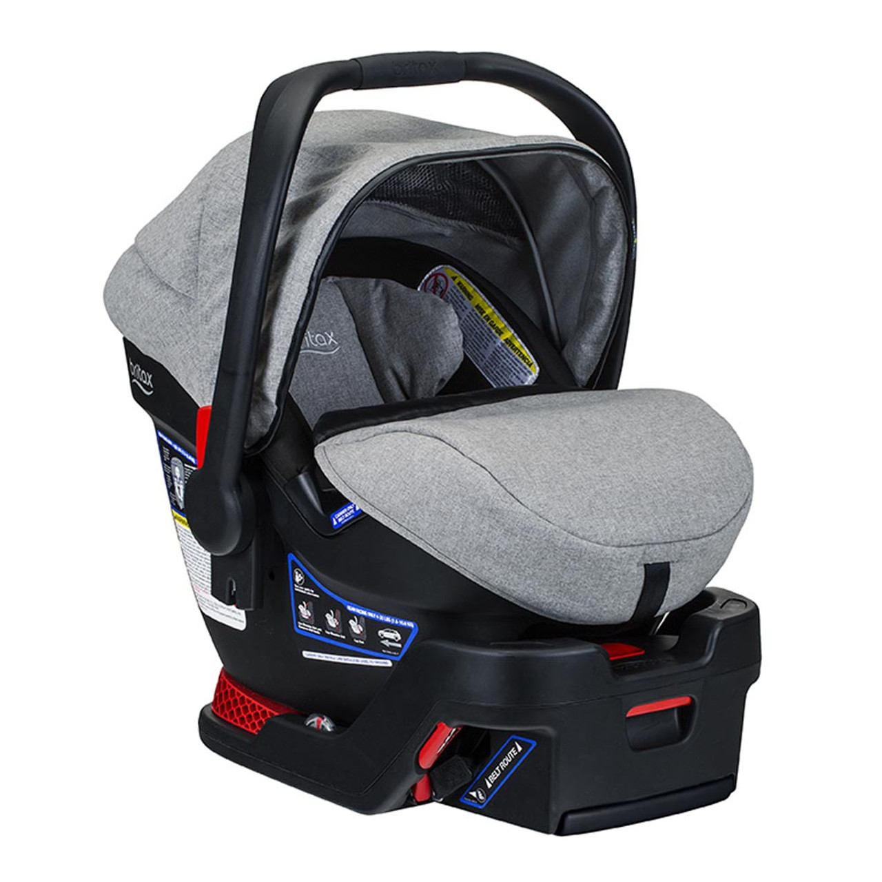 Britax Car Seat With Stroller Britax B Safe Ultra Infant Car Seat Nanotex Exclusive Collection